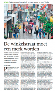 Artikel over retail marketing in de Klaasstraat door Smartcheck