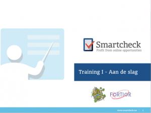 Trainingen van Smartcheck aan Fortior
