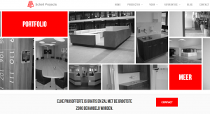 website bouw schell projects