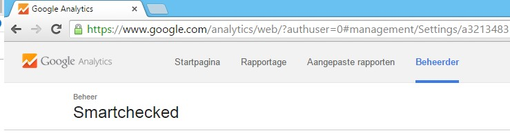 blog analytics koppelen